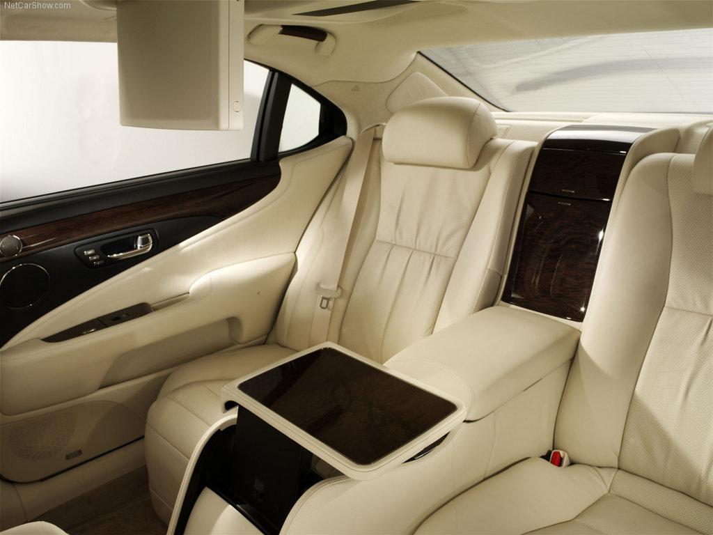 lexus ls 600 interior