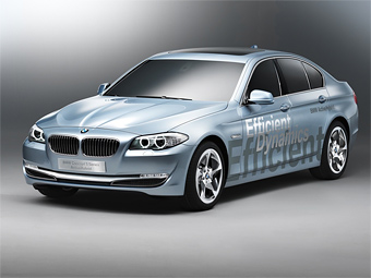 BMW 5-Series Active Hybrid Вид спереди