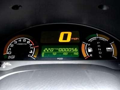 Honda Insight - приборная панель