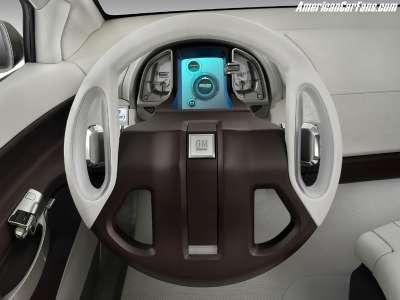 GM Sequel - руль и панель приборов
