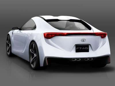 Toyota FT-HS Hybrid Sports Concept