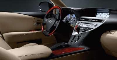 Lexus RX450h - место водителя