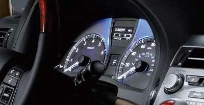 Lexus RX450h - щиток приборов