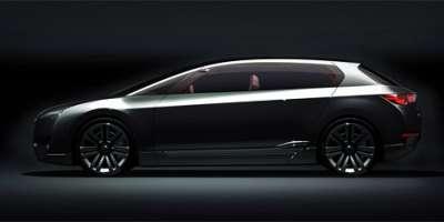 Subaru Hybrid Tourer Вид сбоку