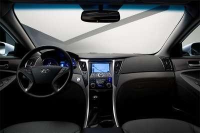 Hyundai Sonata Hybrid Интерьер