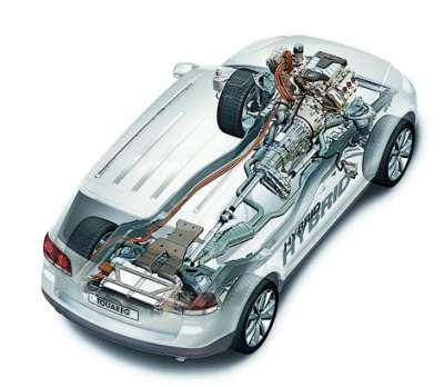 Volkswagen Touareg Hybrid Силовая установка