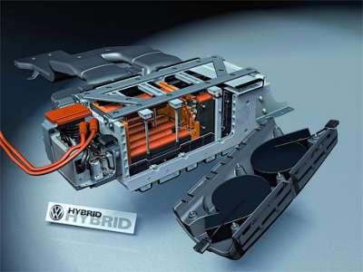 Volkswagen Touareg Hybrid Гибридный двигатель