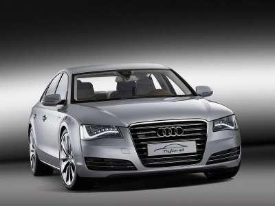 Audi A8 Hybrid Вид спереди