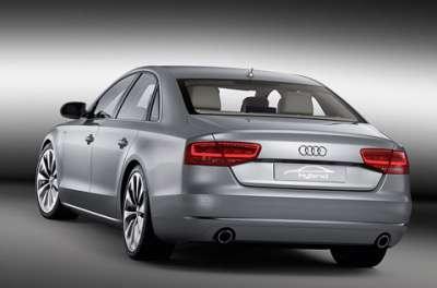 Audi A8 Hybrid Вид сзади
