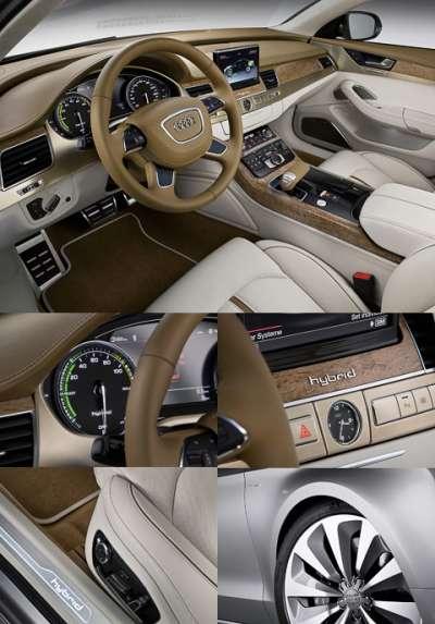 Audi A8 Hybrid Интерьер