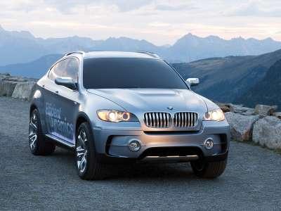 BMW Active Hybrid X6 Вид спереди