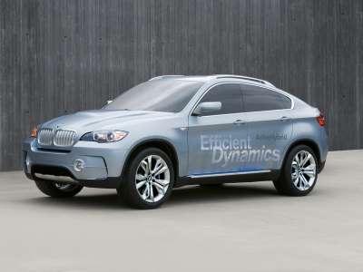BMW Active Hybrid X6 Вид сбоку