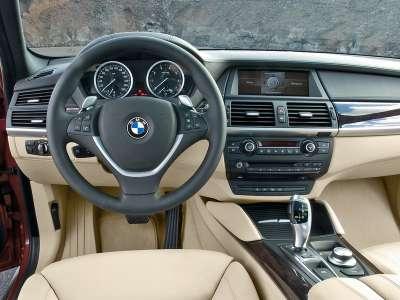 BMW Active Hybrid X6 Интерьер